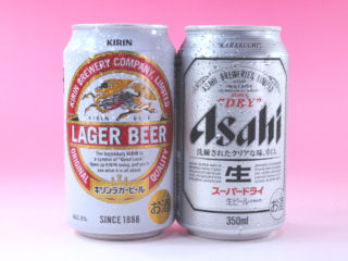 晩酌 缶ビール