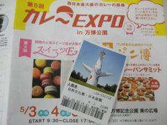 カレーEXPO in 万博公園の入園券